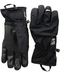 Mountain Hardwear - Plasmic Gore-tex Gloves (black) Snowboard Gloves - Lyst