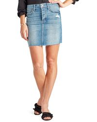 Sam Edelman Jenny Skirt In Ayana - Blue