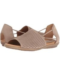 dbb8ab8e3183e Earth - Shelly (taupe Soft Buck) Women s Shoes - Lyst