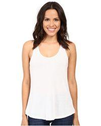09b6db2c69529 Alternative Apparel - Vintage 50 50 Backstage Tank Top (white) Women s  Sleeveless -