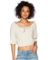 Rachel Pally - Linen Polly Top (natural) Women's Clothing - Lyst