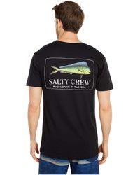 Salty Crew El Dorado Short Sleeve Tee T Shirt - Black