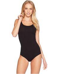 Yummie By Heather Thomson Scoop Neck Full Back Bodysuit - Black