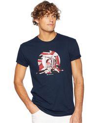 Ben Sherman - Scooter Target Graphic Tee (midnight Navy) Men's T Shirt - Lyst