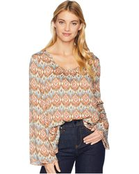 Stetson - 2104 Aztec Print Rayon Twill (multi) Women's Clothing - Lyst