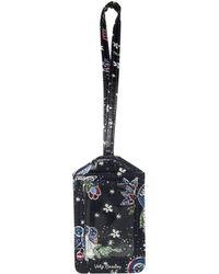 Vera Bradley - Iconic Luggage Tag (holiday Owls) Luggage - Lyst