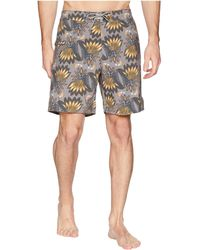 Captain Fin - Mega Feather Boardshorts (mocha) Men's Swimwear - Lyst