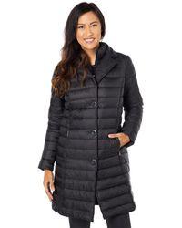Lauren by Ralph Lauren Puffer Coat With Vest - Black