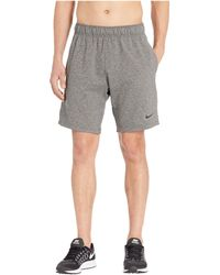 0344f5c56a Nike Dry Shorts Asymmetrical in Blue for Men - Lyst