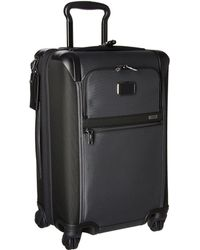 Tumi - Alpha 2 - International Expandable 4 Wheeled Carry-on (black) Carry On Luggage - Lyst