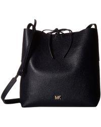 MICHAEL Michael Kors - Junie Large Messenger (fawn) Messenger Bags - Lyst