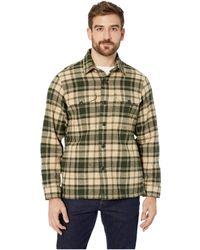 Filson - Deer Island Jac-shirt (dark Cream/green Plaid) Men's Coat - Lyst