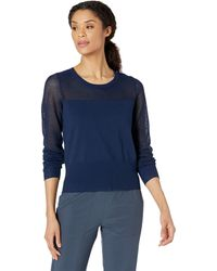 Lolë Cozy Pullover Sweater - Blue