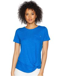 Lauren by Ralph Lauren - Twisted Pocket T-shirt - Lyst