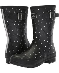 Joules | Mid Molly Welly | Lyst
