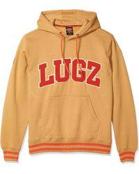 Lugz Varsity Hoodie Fleece - Orange