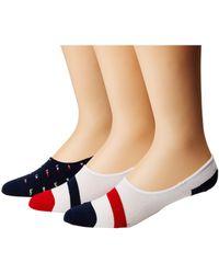 Polo Ralph Lauren - Flags Liner 3-pack Socks - Lyst