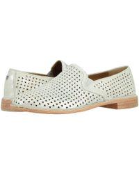 26cd24f0ddf2 Trask - Ali Perf (gray Oiled Italian Suede) Women s Slip On Shoes - Lyst