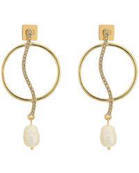 Vince Camuto - Organic Pearl Drops Earrings - Lyst