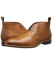 Massimo Matteo - 3-eye Chukka (bordo) Men's Lace-up Boots - Lyst