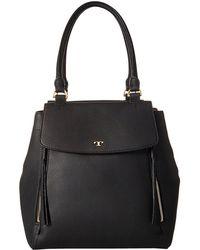 Tory Burch - Half-moon Tote (black) Handbags - Lyst