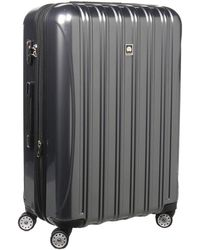Delsey Helium Aero - 29 Expandable Spinner Trolley - Metallic