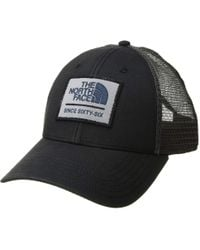 16b9d919e6a The North Face - Patches Trucker Hat (mid Grey graphite Grey tnf White