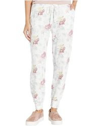 Lucky Brand Floral Jogger Pants - Multicolor