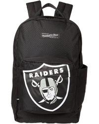 Mitchell & Ness Nfl Backpack Raiders - Black