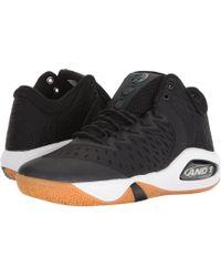 AND1 Attack Mid (black/junebug/gum) Basketball Shoes