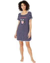 Kate Spade Jersey Knit Sleepshirt - Blue