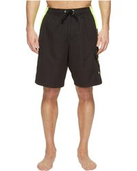 db3204a811 Speedo Hydrovolley W/ Compression Jammer in Black for Men - Lyst