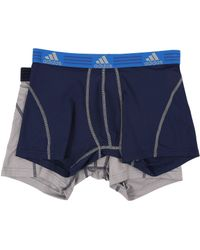 adidas Sport Performance Climalite 2-pack Trunk - Gray
