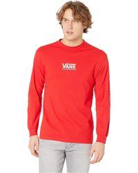 b94988c1525 Vans - Checkmate Iii Long Sleeve T-shirt (black) Men s Clothing - Lyst
