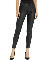 Blank NYC The Bond Mid-rise Skinny In Panther - Black