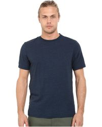 Threads For Thought Baseline Tri-blend Crew Tee - Blue