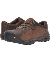 Keen Utility - Santa Fe At Esd (cascade Brown/shitake) Women's Work Boots - Lyst