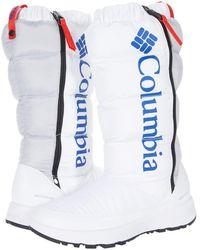 Columbia Paninaro Omni-heat Tall - White