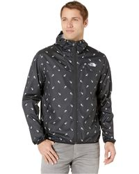 ff43ffb3c The North Face Printed Cyclone Hoodie (citrine Yellow Campfire Print ...