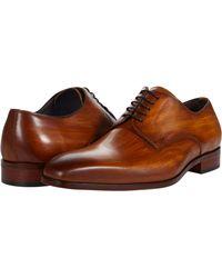 Massimo Matteo Almansa Blucher Shoes - Orange