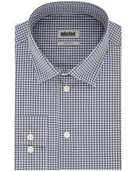 Kenneth Cole Dress Shirt Regular Fit Check - Blue