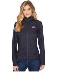 Arc'teryx - Tenquille Hoodie (black Sapphire) Women's Sweatshirt - Lyst