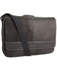 1248af66d4 Kenneth Cole Reaction -  risky Business  Single Gusset Messenger Bag  (cognac) Messenger