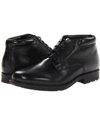 Rockport Essential Details Waterproof Chukka Boot - Black