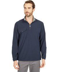 Linksoul 1/2 Zip Pullover Windbreaker Clothing - Blue