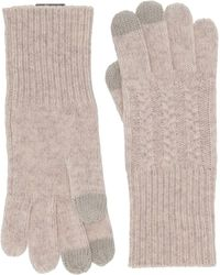 Pendleton Cable Gloves - Natural