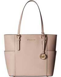 f284d3fdee44 MICHAEL Michael Kors - Jet Set Travel Large Tote (soft Pink) Tote Handbags -