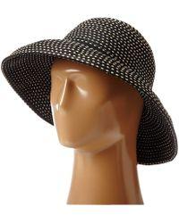 San Diego Hat Company - Rbm4784 Ribbon Kettle Brim Hat (black) Traditional Hats - Lyst