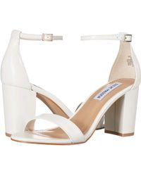 Steve Madden Exclusive - Declair Block Heeled Sandal - White