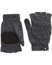 Smartwool Cozy Grip Flip Mitt - Black